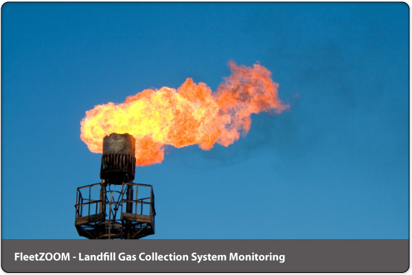 Landfill Gas Monitoring by FleetZOOM