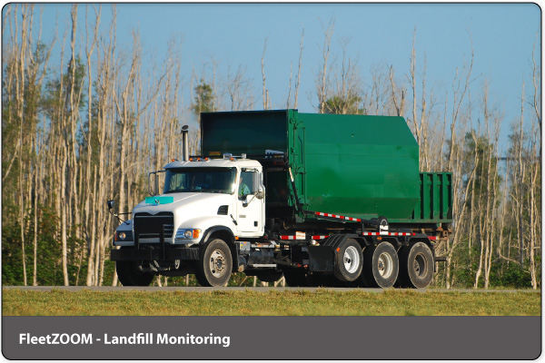 Landfill Monitoring by FleetZOOM